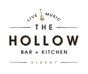 The Hollow Bar + Kitchen Logo